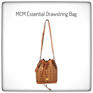 🌹🌹MCM Bucket/Drawstring Handbag 100% Authentic